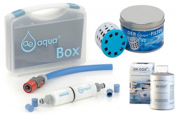 Set 1: ae-aqua Befüllfilter + ae-aqua Filter C2-50 + DK-DOX AKTIV BASIC